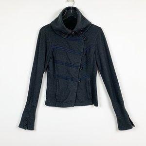 Lululemon Military Style Jacket Gray Size 8